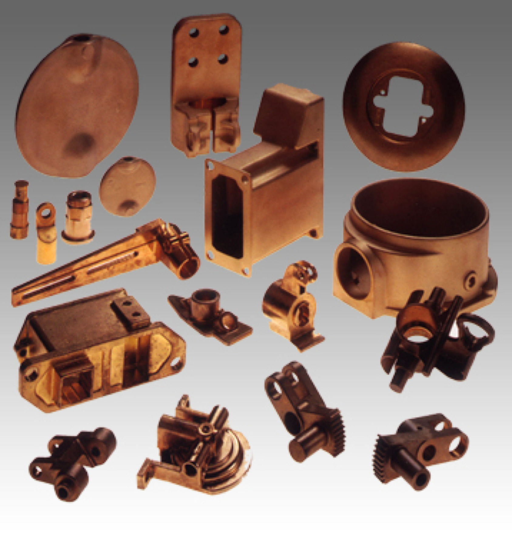metal casted catalog