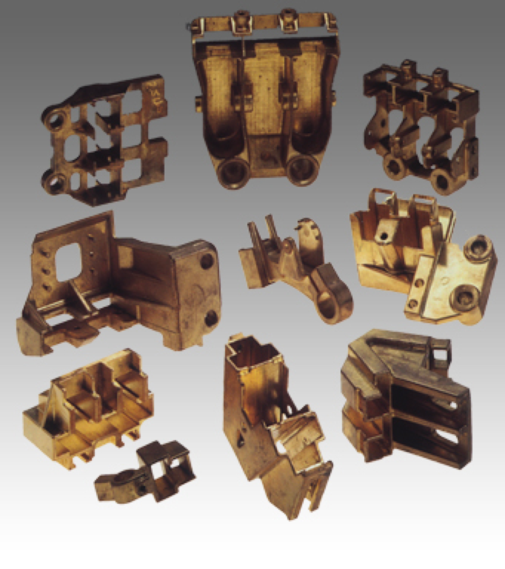 metal works from metalcasting machinery