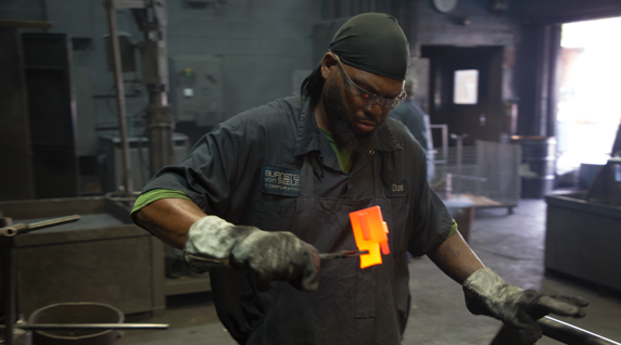 metal working expert blacksmith